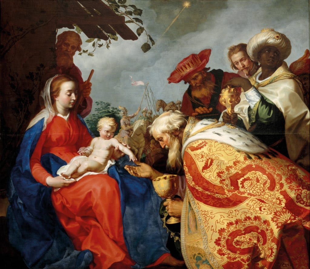 The Adoration of the Magi, (1624), Abraham Bloemaert, Centraal Museum, Utrecht