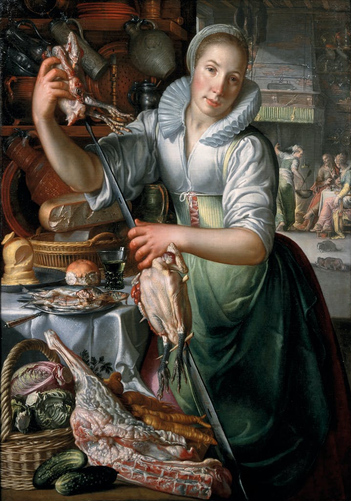 The Kitchen Maid, (c. 1620–c. 1625) Joachim Wtewael, Centraal Museum, Utrecht