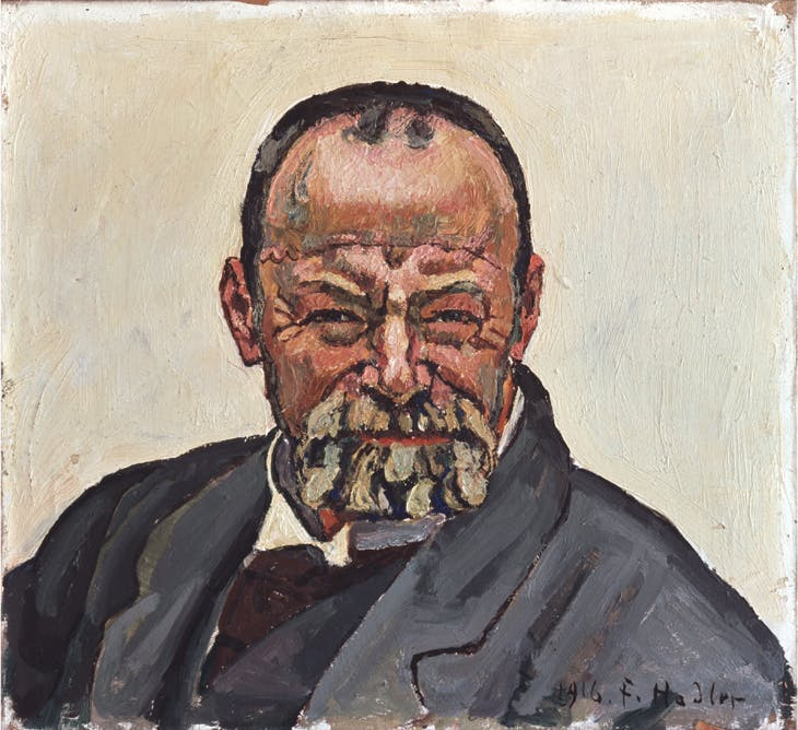 Self-portrait, Ferdinand Hodler