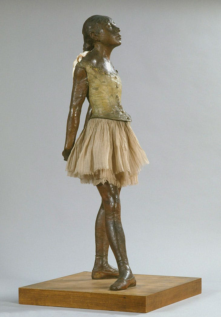 Dancing girl aged fourteen, Edgar Degas