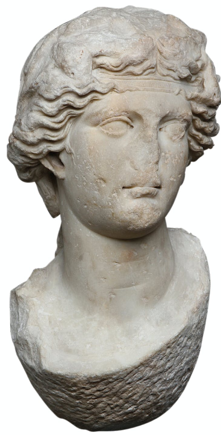Head of Dionysos, Roman.