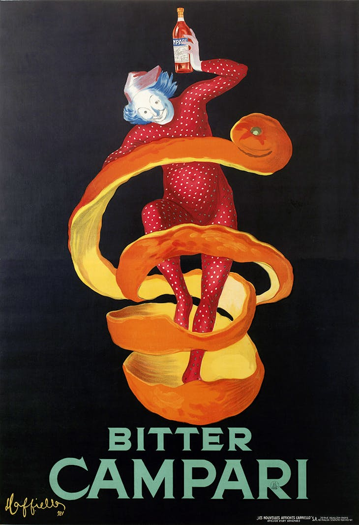 Bitter Campari (Lo Spiritello), Leonetto Cappiello