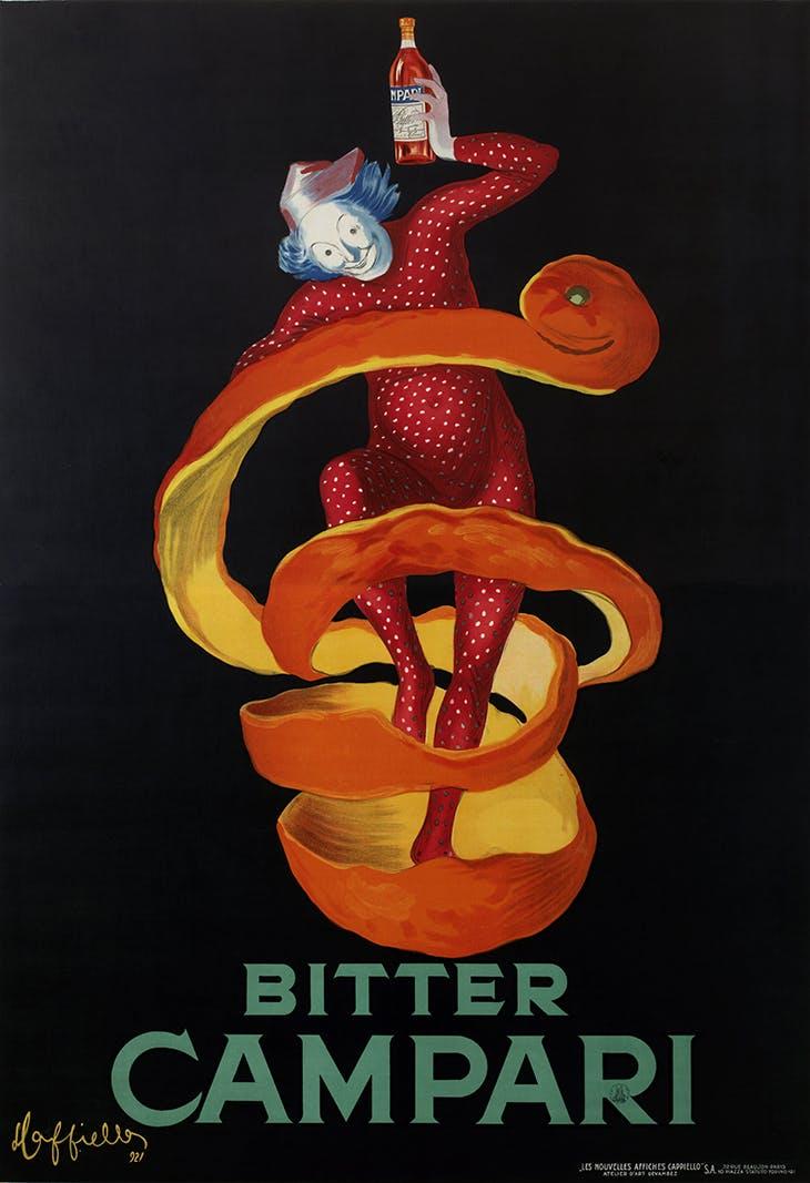 Bitter Campari (Lo Spiritello), Leonetto Cappiello