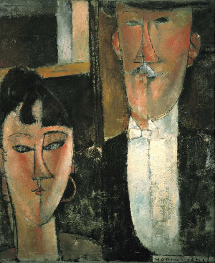 Bride and Groom, Amedeo Modigliani