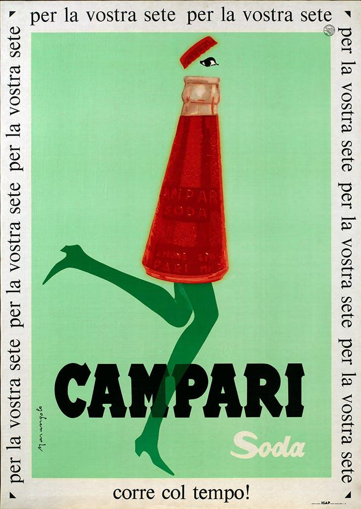 Campari Soda is in Line with the Times! (1960s), Franz Marangolo.