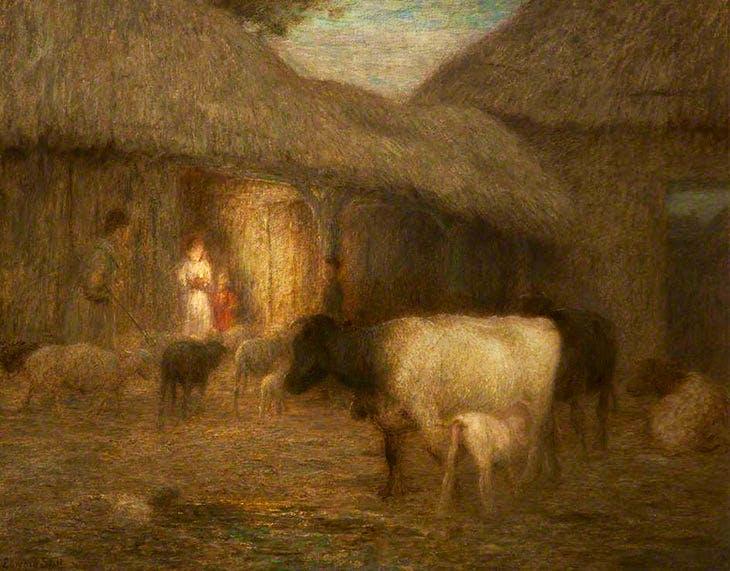 Approaching Night (c. 1917), Edward Stott. Touchstones Rochdale.