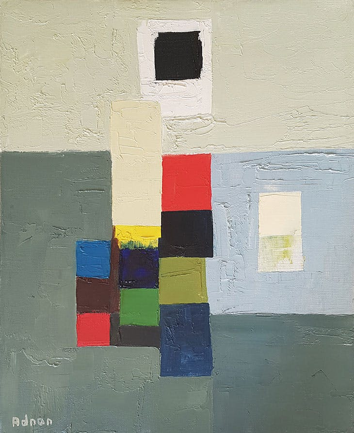 Untitled (1970s), Etel Adnan.