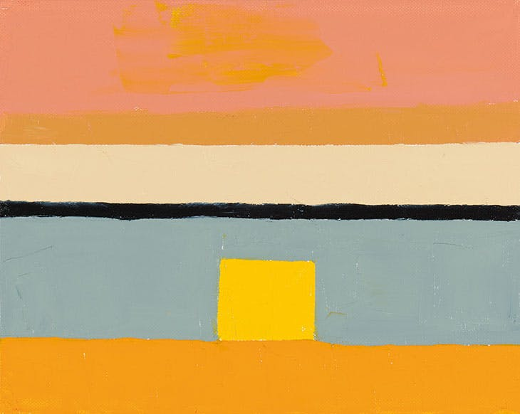 Untitled (2010), Etel Adnan.