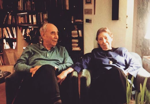 Irving and Lucy Sandler. Image courtesy Lauren Grosskopf