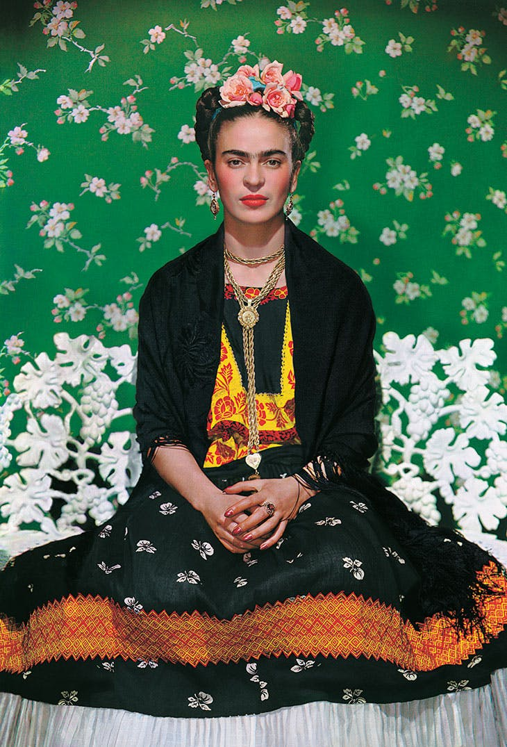Frida on the bench, Nickolas Muray