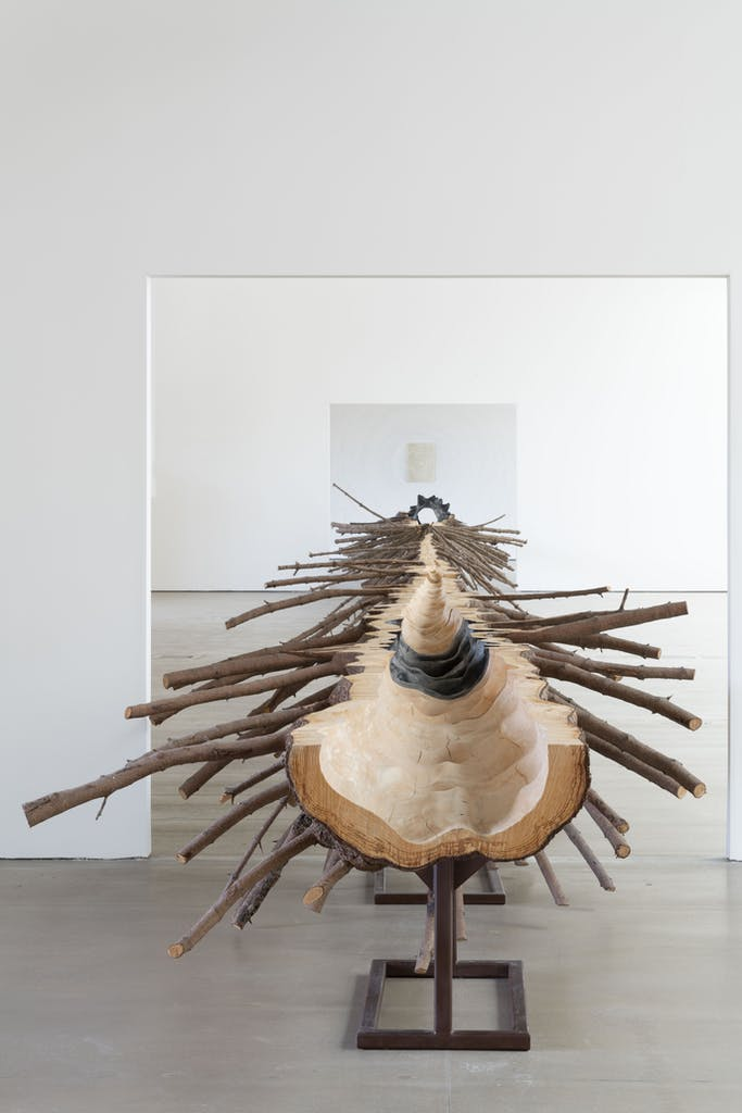 Matrice (2015), Giuseppe Penone, Private collection, Photo: © Jonty Wilde; courtesy the artist and Yorkshire Sculpture Park