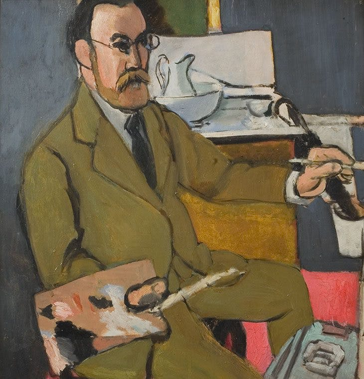 Self-portrait, Henri Matisse
