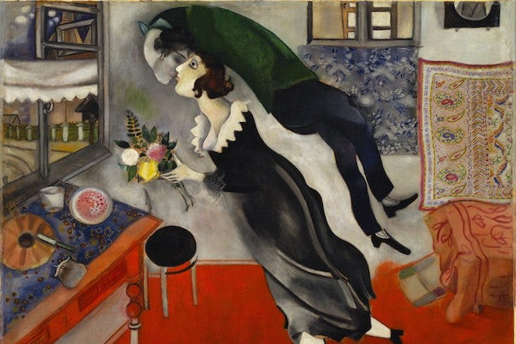 Birthday, Marc Chagall
