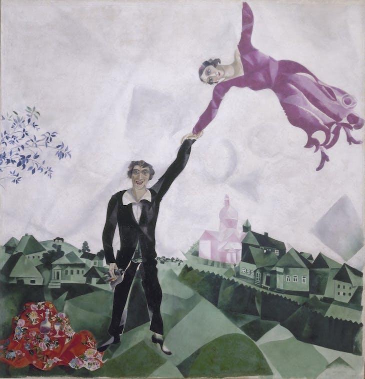 The Promenade, Marc Chagall