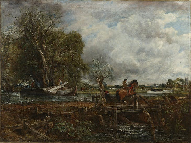 The Leaping Horse, John Constable