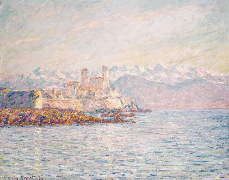 Antibes, Claude Monet