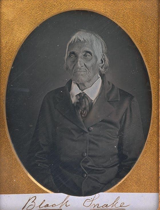 Seneca Chief Governor Blacksnake