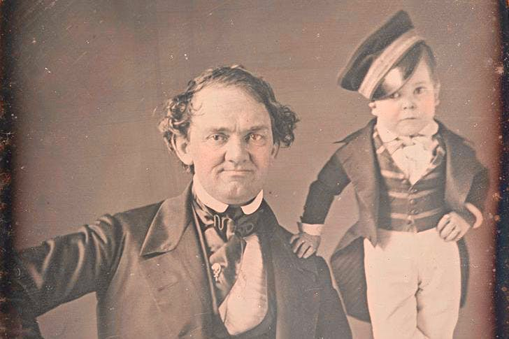 P.T. Barnum and General Tom Thumb