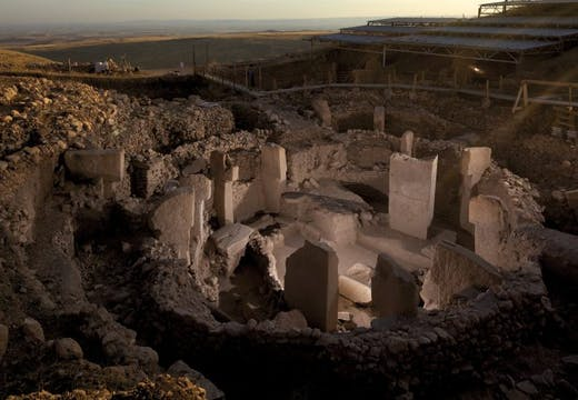 Enclosure C at Göbekli Tepe in southern Turkey, Photo: Vincent J. Musi/National Geographic Creative