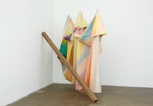 Rondo (1971), Sam Gilliam. Kunstmuseum Basel