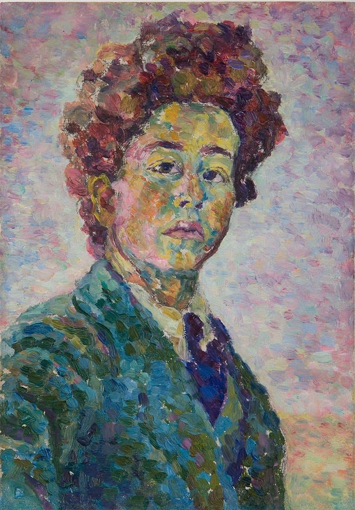 Self-portrait, Alberto Giacometti