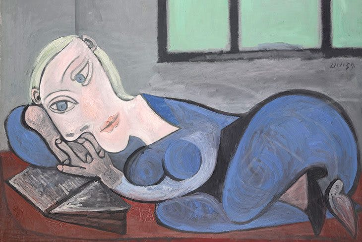 Reclining Women Reading, Pablo Picasso
