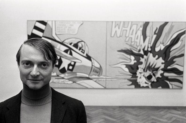 Roy Lichtenstein in 1967