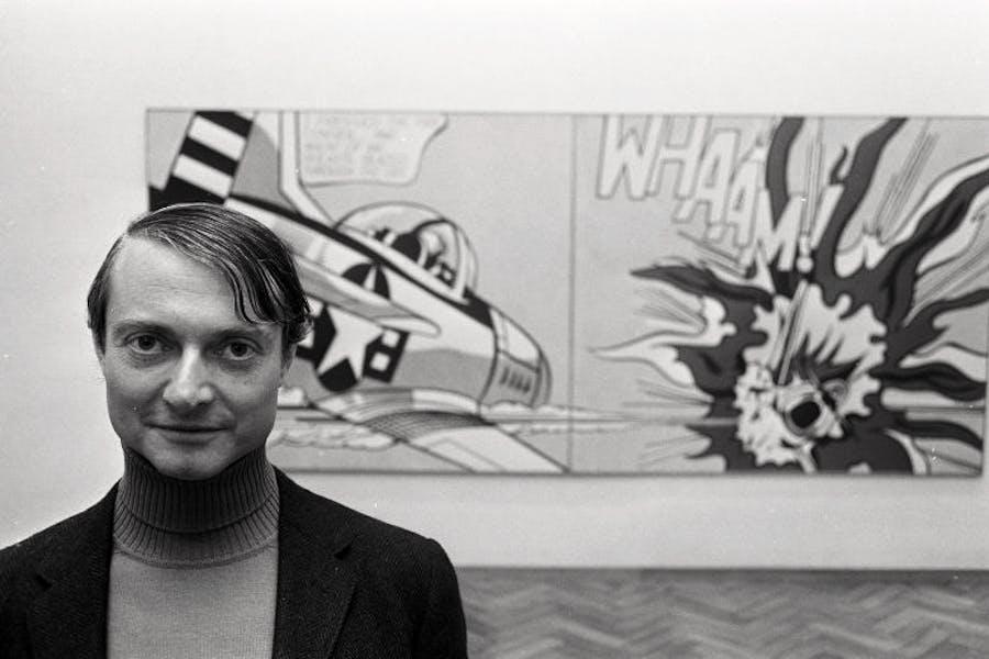 Roy Lichtenstein in 1967