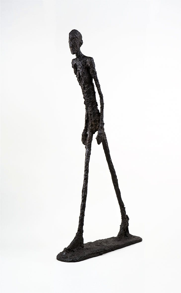 Walking Man I, Alberto Giacometti