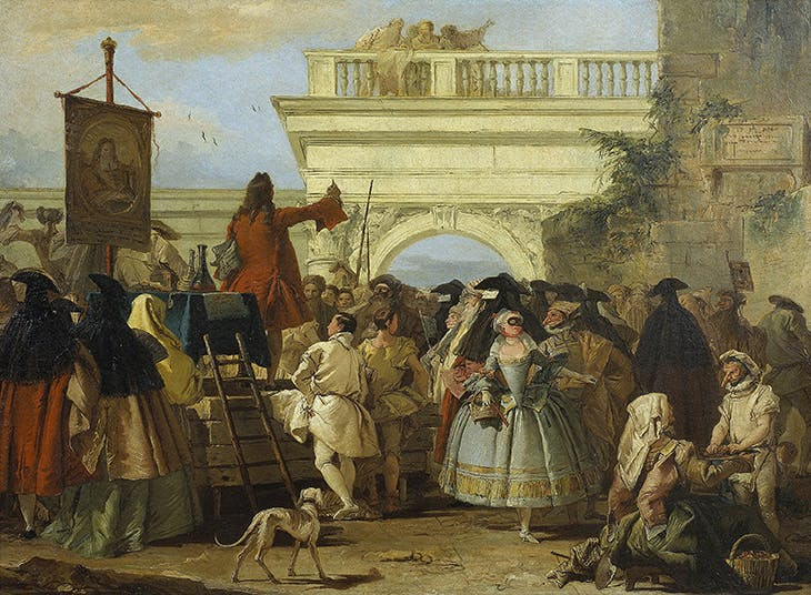 The Charlatan, Tiepolo
