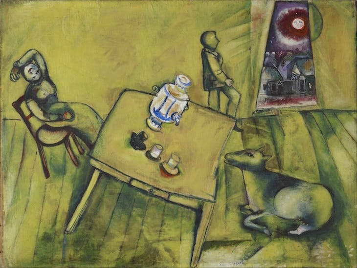 The Yellow Room, Marc Chagall