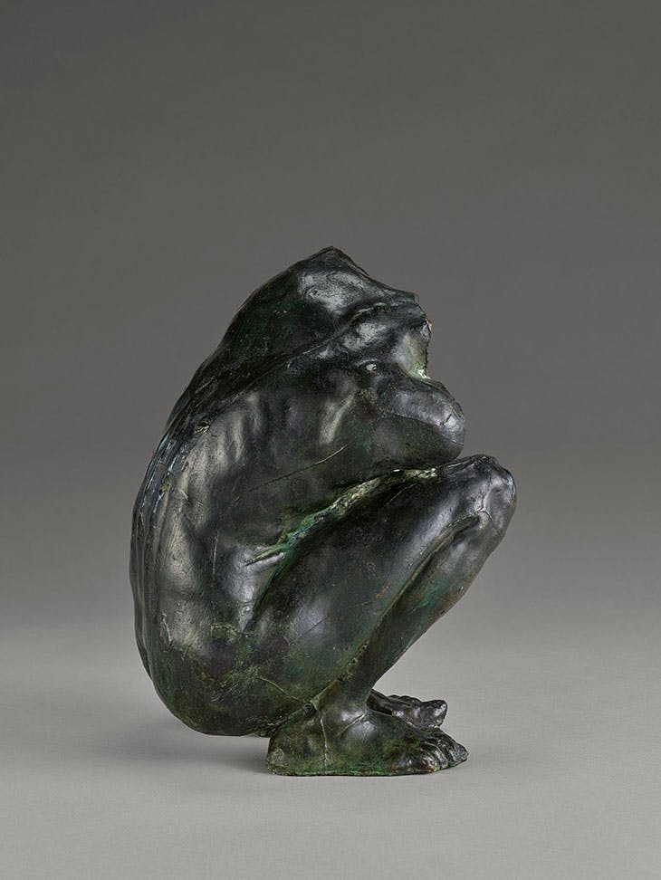 Torso of a Crouching Woman, Camille Claudel