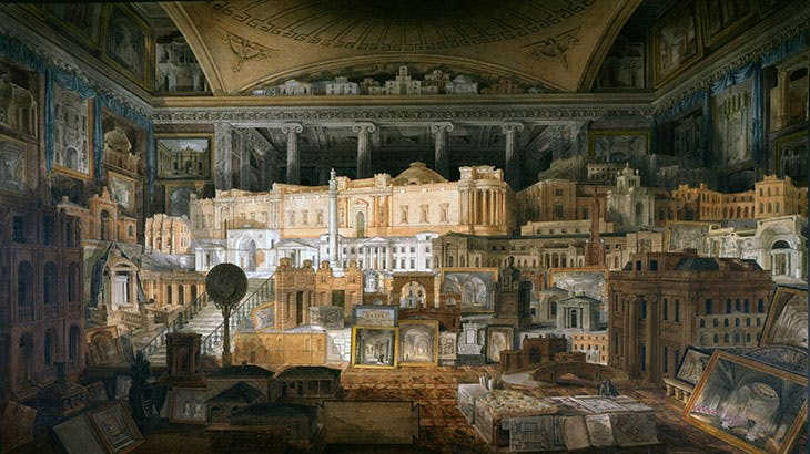 Public and Private Buildings executed by Sir John Soane between 1780 and 1815