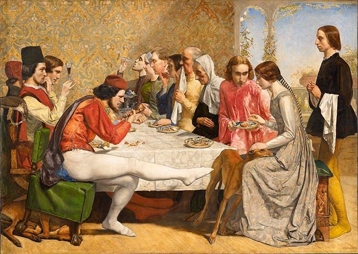 Isabella, Millais