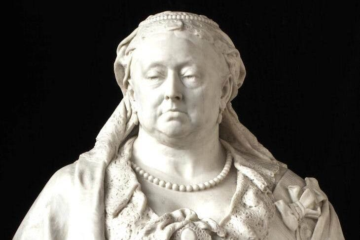 Queen Victoria (1887–89), Sir Alfred Gilbert.
