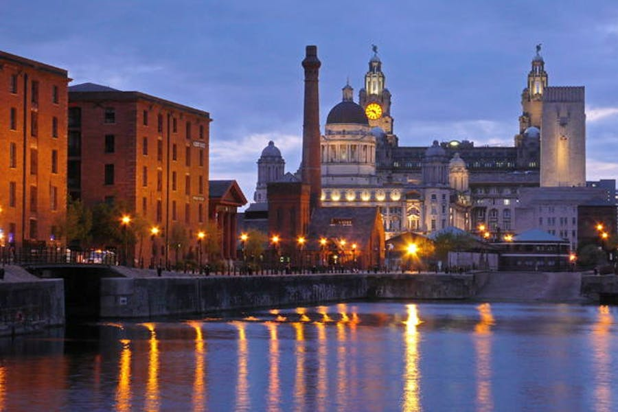 The Albert Dock, Liverpool, © OUR PLACE The World Heritage Collection