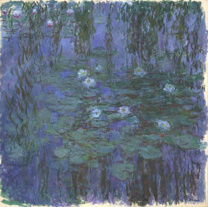 Blue Water Lilies, Claude Monet