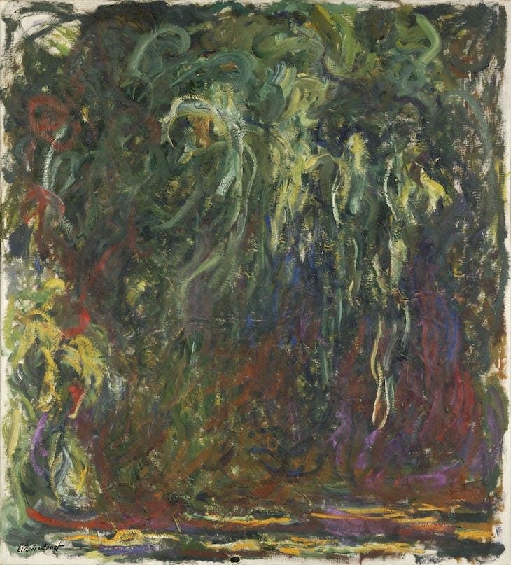The Weeping Willow, Claude Monet