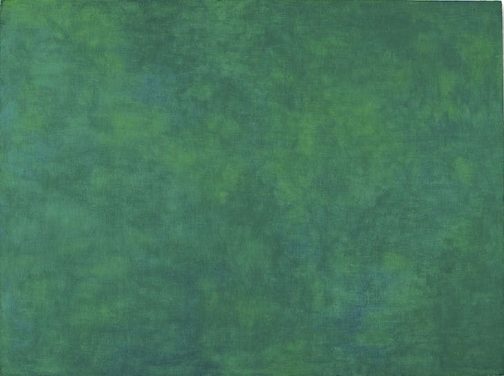Green Painting, Ellsworth Kelly