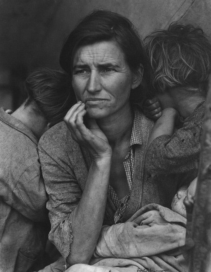 MIgrant Mother, Nipomo, California (1936), Dorothea Lange.