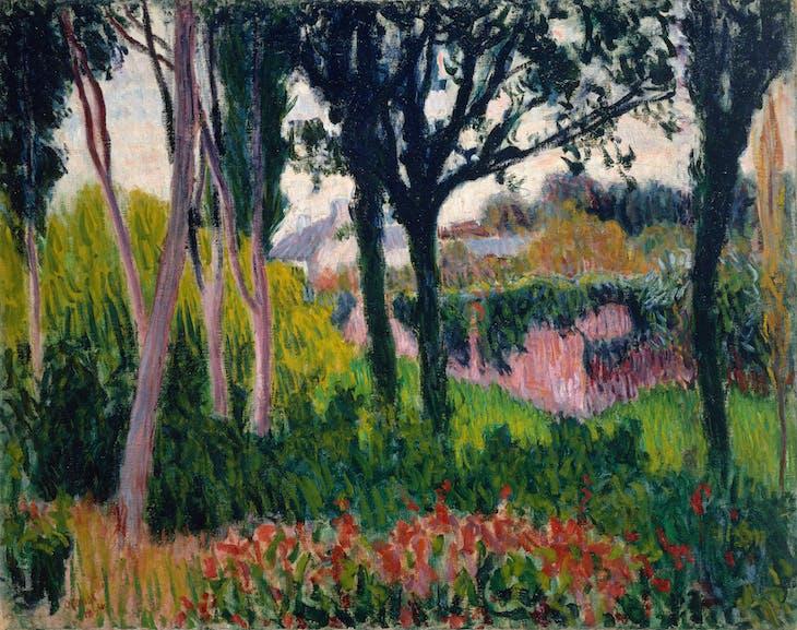 The Farm at Lezaven, Finistère, Roderick O'Conor