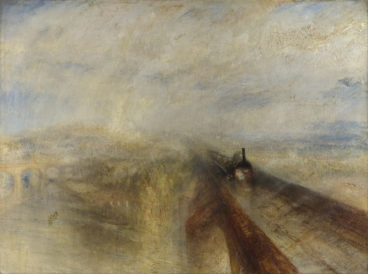 Rain, Steam and Speed – The Great Western Rail, J.M.W. Turner