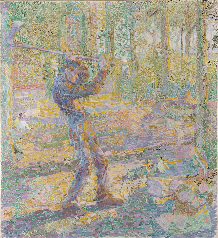 Labour (The Woodcutter) (1905), Jan Toorop. Courtesy of Gemeentemuseum Den Haag