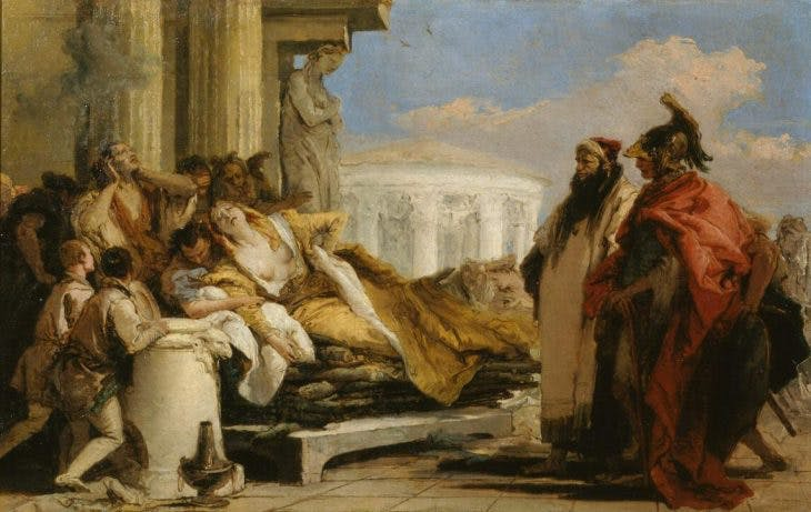 The Death of Dido, Giambattista Tiepolo