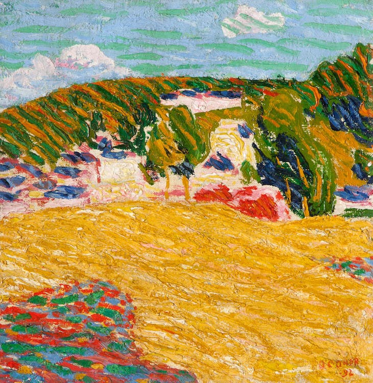 Field of Corn, Pont-Aven, Roderick O'Conor