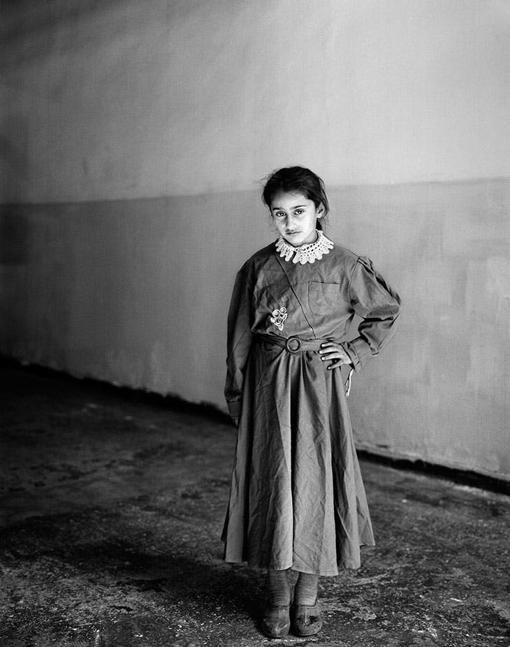 Untitled from the series Sweet Nothings: School Girls of Eastern Anatolia (2007), Vanessa Winship.