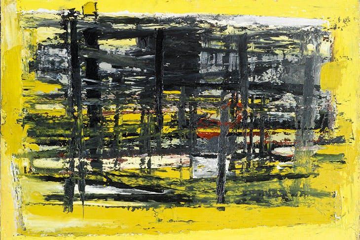 January, Yellow and Black (1957), Paul Feiler.