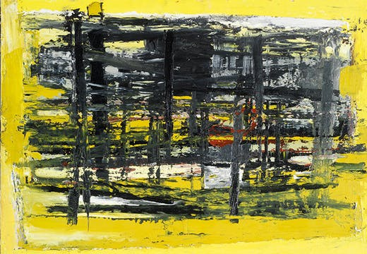 January, Yellow and Black (1957), Paul Feiler.