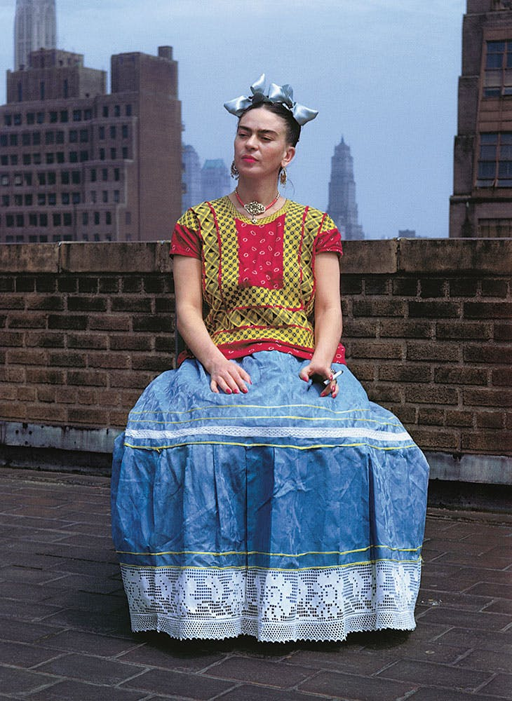 Frida Kahlo in New York (1930), Nickolas Muray