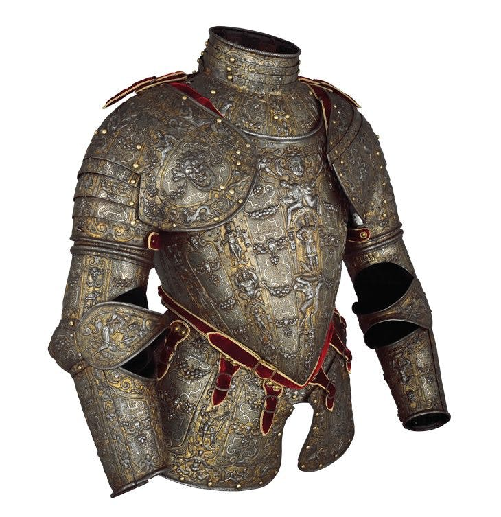 Partial armour (c. 1570–90), Lucio Marliani, called Piccinino.